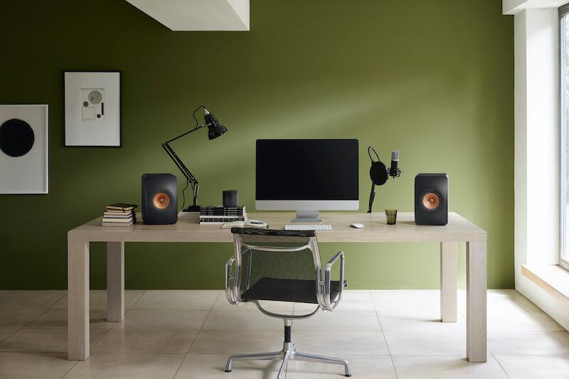 KEF's award winning, wireless speaker duo for room-filling sound