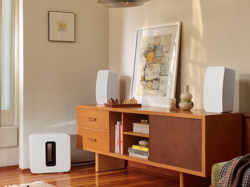 The powerful, stereo Sonos speaker with line-in for a dynamic, powerful listening experience