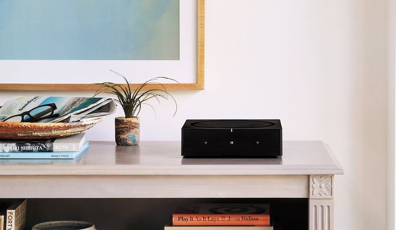 The compact and powerful Sonos Amp for bringing passive speakers into your Sonos System