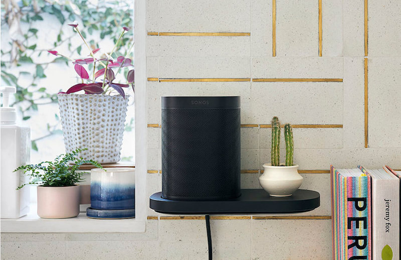 Sonos' Voice Assistant enabled compact speaker, perfect for music listening in the home