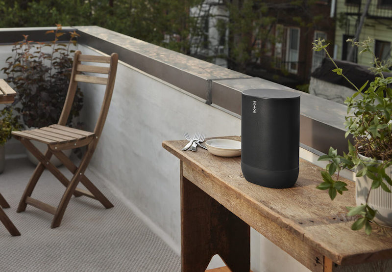 The durable, battery-powered smart speaker for outdoor and indoor listening