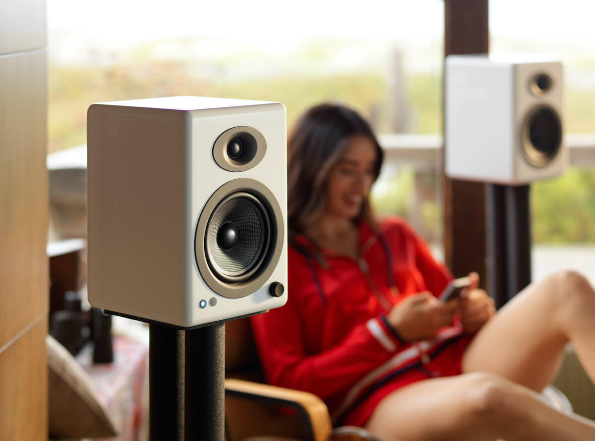 A5+ Wireless Powered Speakers with Bluetooth