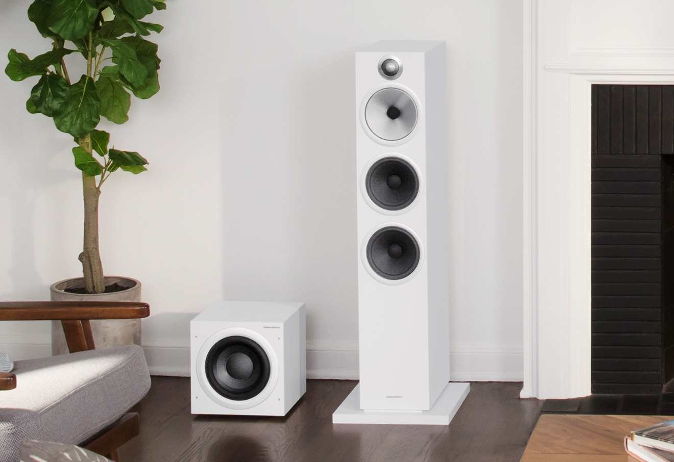 Great bass for smaller rooms