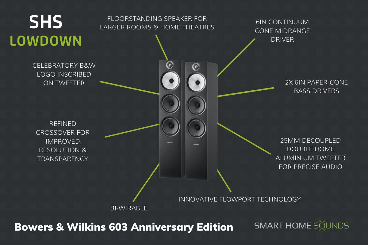 SHS Lowdown - Bowers & Wilkins 603 Floorstanders