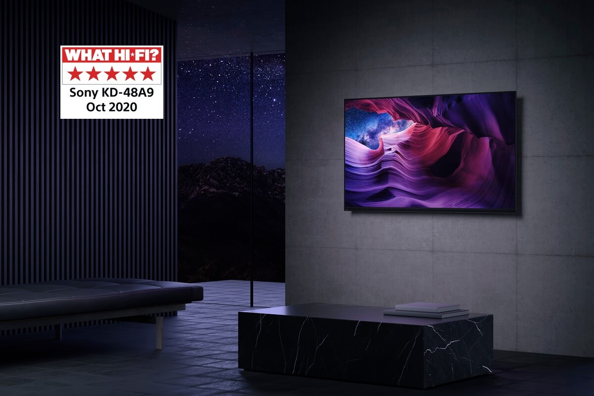 SHS The Score - Sony BRAVIA A9 4K OLED TV