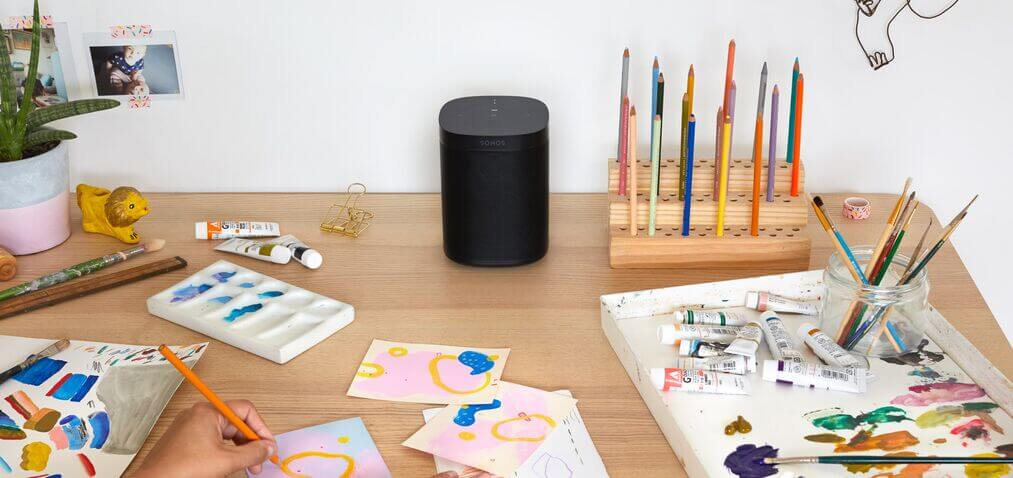 Sonos One - The Compact, Smart Speaker
