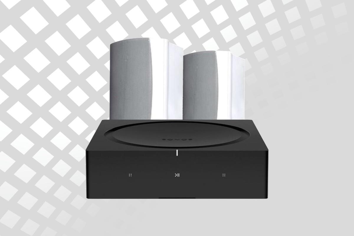 Sonos Amp & Kef Ventura 5 Outdoor Bundle