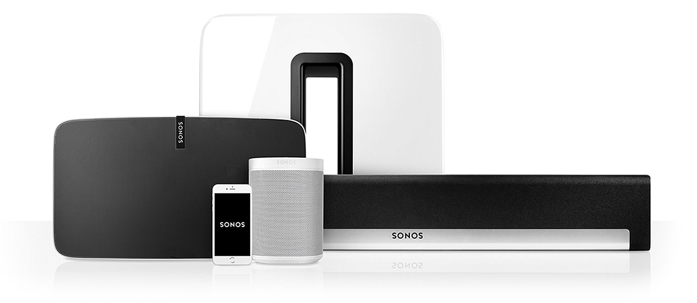 2 x sonos one bundle smart home sounds. Black Bedroom Furniture Sets. Home Design Ideas
