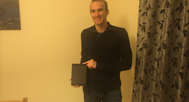 Congratulations to our latest iPad winner!