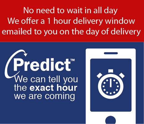 From Monday the 17th of March, Smart Home Sounds will now be able to offer a 15 min delivery window.