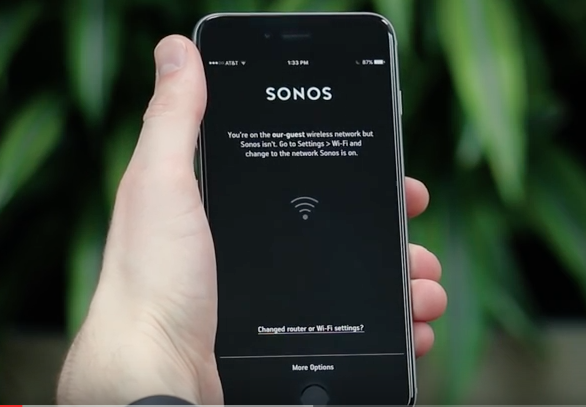 How to Reconnect your Sonos system to a New Router or WiFi