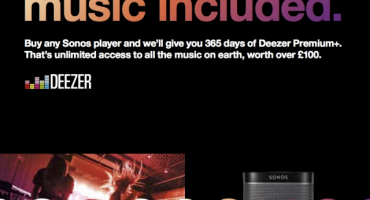 Sonos offers one year of music for free*