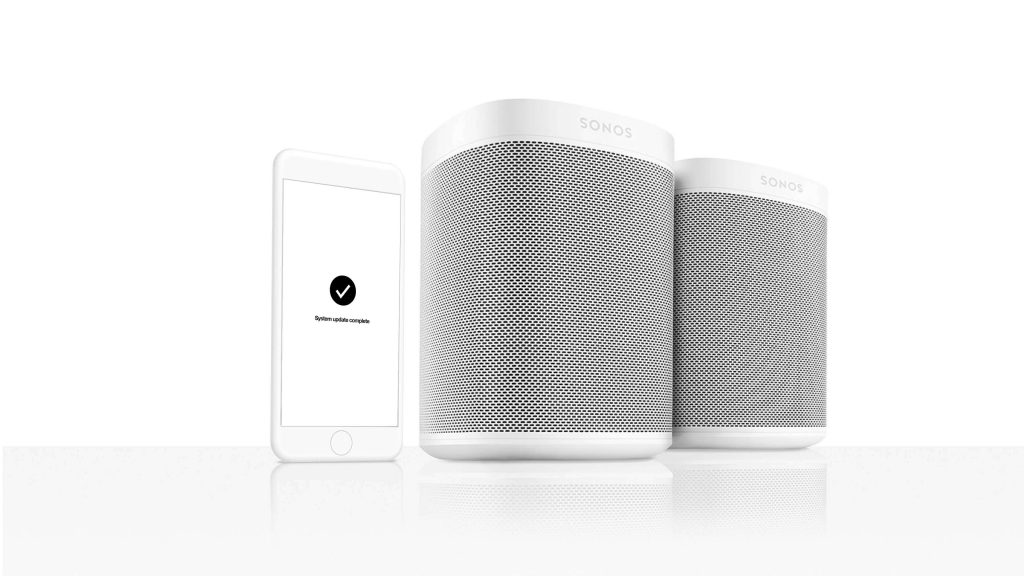 sonos one the most complete voice controlled smart speaker is finally here smart home sounds. Black Bedroom Furniture Sets. Home Design Ideas