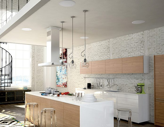 kef-in-ceiling-kitchen-speakers