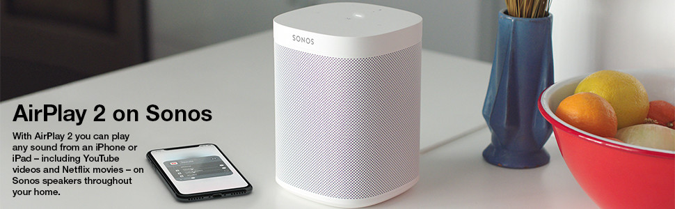 add sonos speaker to airplay