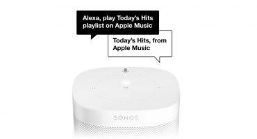 Apple Music now works with Alexa on Sonos Speakers