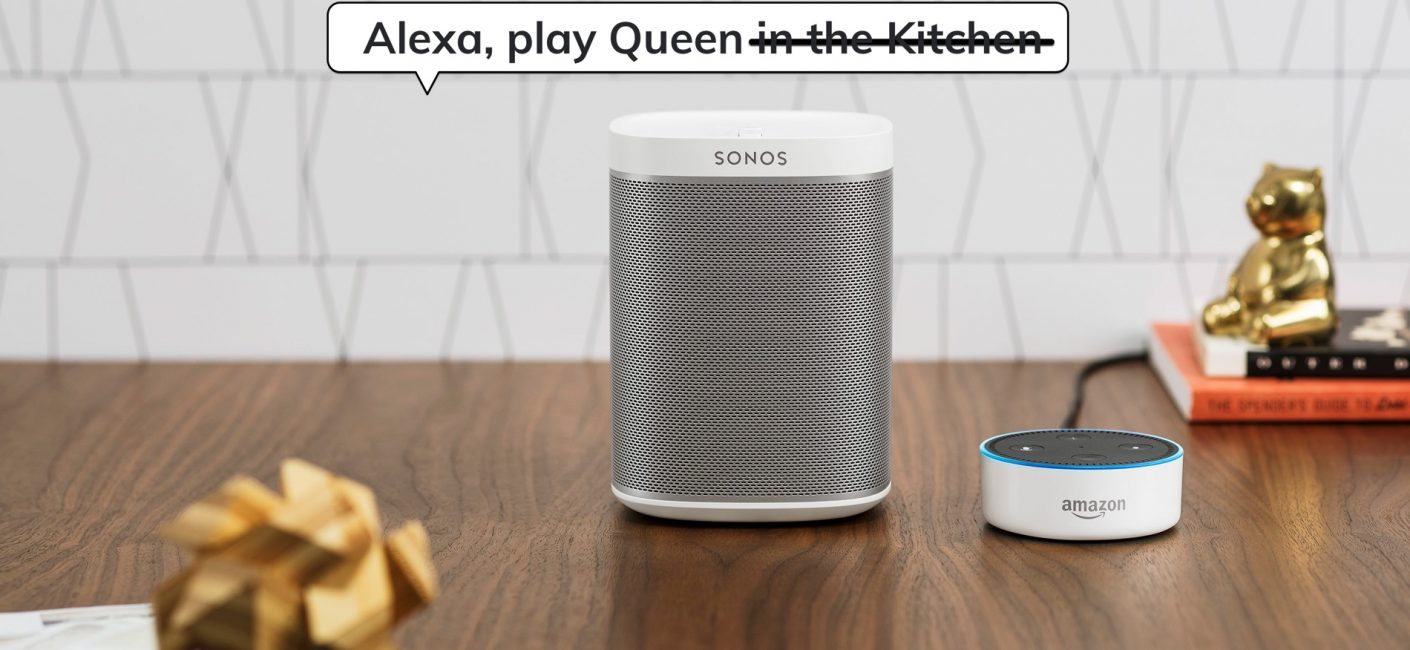 Improved Voice Control with Sonos & Alexa Echo devices