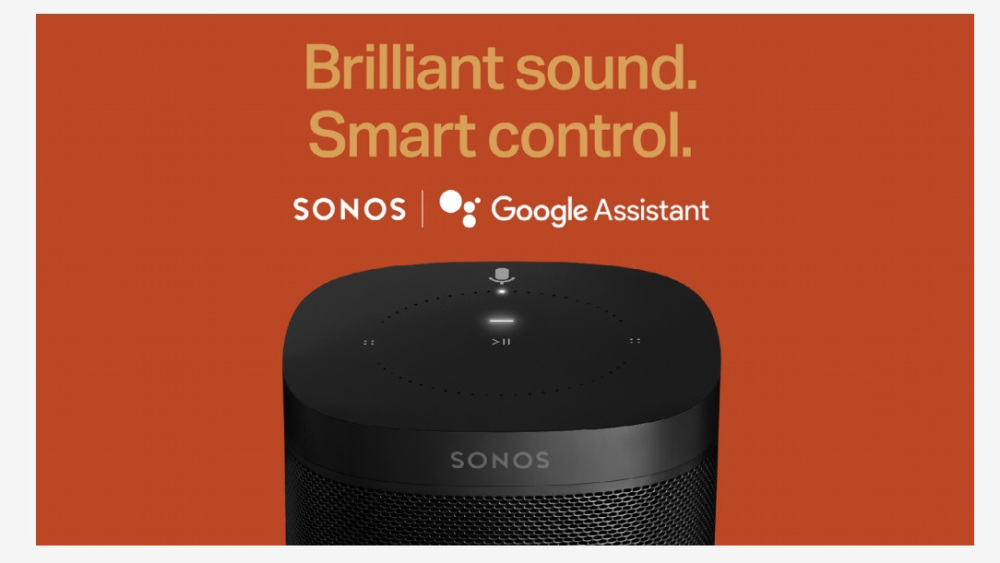 Sonos will support Google Assistant in the coming weeks