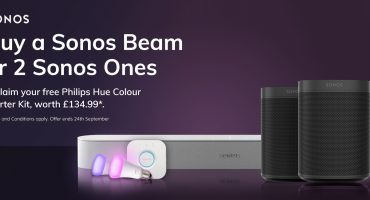 Claim £135 worth of Philips Hue Smart Lighting with Sonos