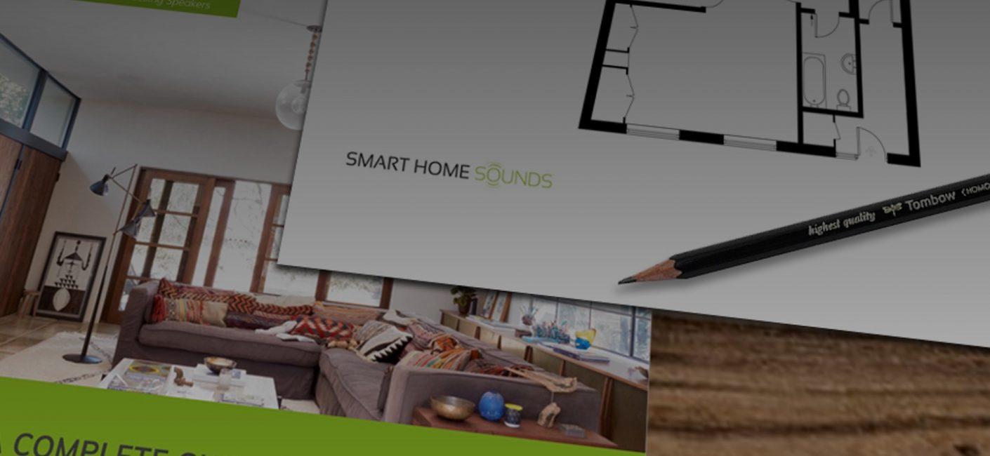 Smart Home Sounds Ceiling Speaker design service