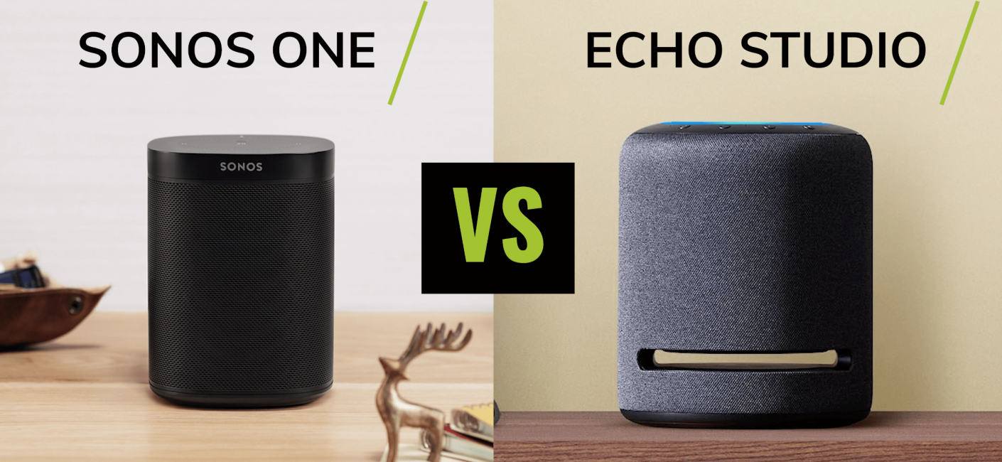 Sonos One vs Amazon Echo Studio - Which speaker is right for you?