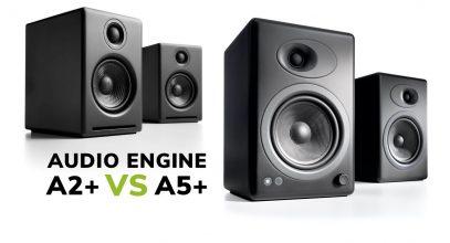 Audioengine A2+ vs A5+ Wireless Speakers Comparison