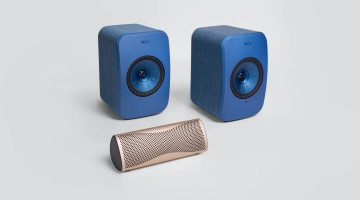 Free KEF MUO in Horizon Gold with KEF's LSX Wireless Music System
