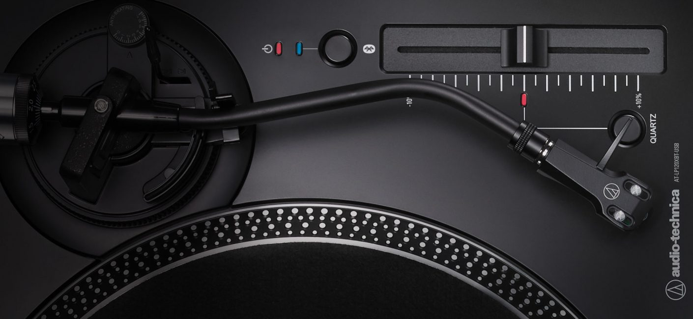 Introducing the new Audio-Technica AT-LP120XBTUSB Bluetooth Turntable