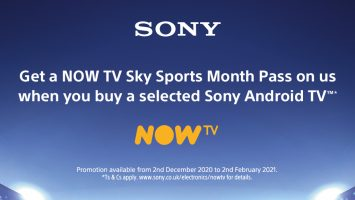 Sony TV - NOW TV Sky Sport Pass Promotion