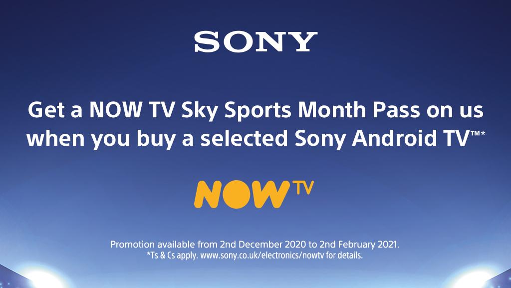 Sony TV - NOW TV Sky Sport Pass Promotion