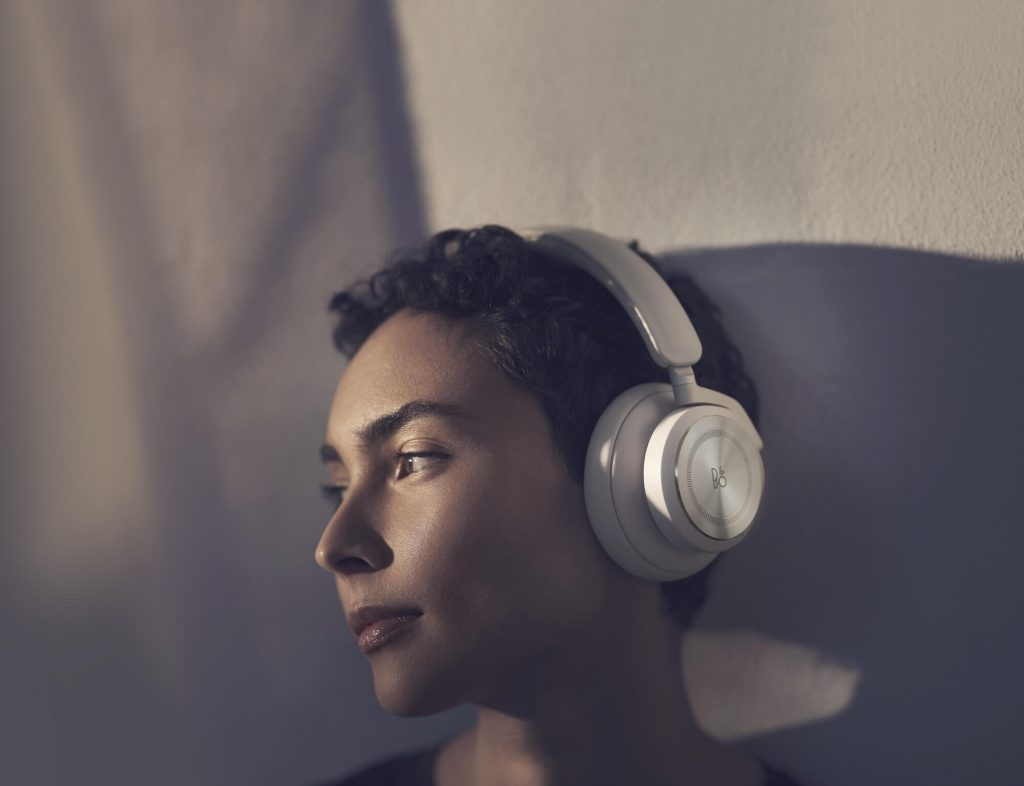 B&O HX headphones lifestyle