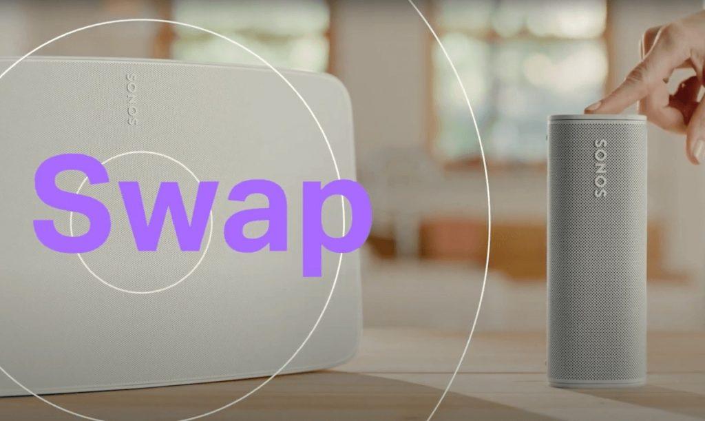Sonos Roam Sound Swap