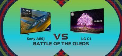 Sony A80J vs LG C1: Battle of the OLEDs