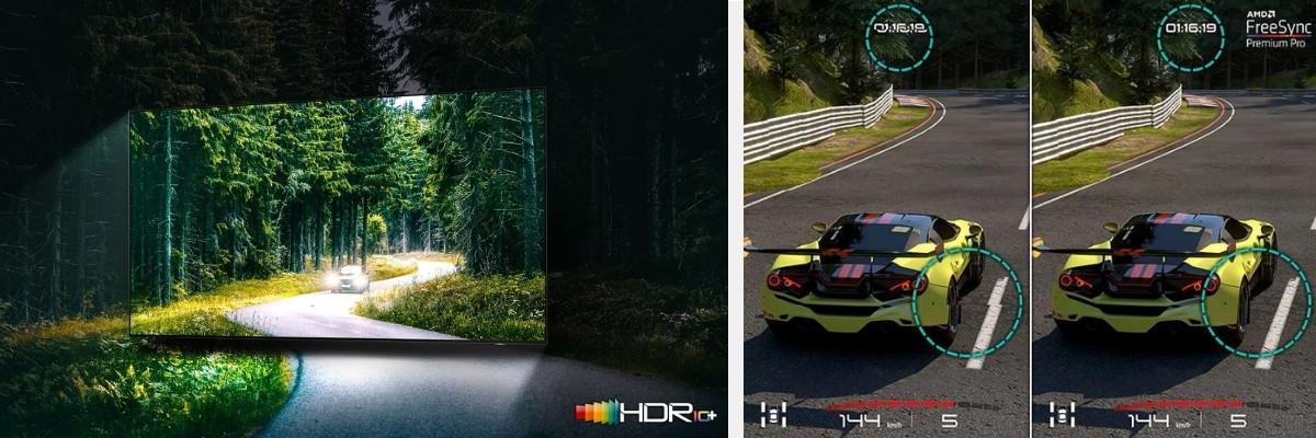 Samsung QN90A Collage