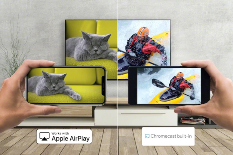 Sony A80J Chromecast