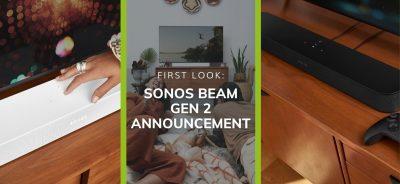 Sonos Beam Gen 2 Announcement: First Look