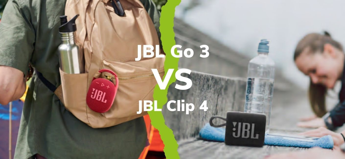 JBL Clip 4 vs JBL Go 3 Review - Portable speakers put to the test