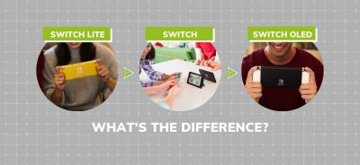 Nintendo Switch vs. Switch OLED vs. Switch Lite: What's the difference?